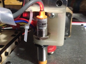 Autolevel Probe Mount - Printrbot Simple 2014 / Makers - improved