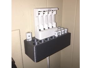 Ikea Ladda Battery Charger wall mount