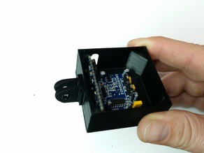 Movement sensor with PIR and Arduino in a GoPro mount compatible housing