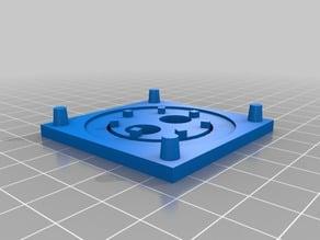 magnetic stirrer parts for 50mm fan