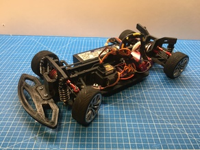 OpenRC 1:10 4WD Touring RC Car - AL.edition