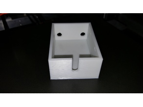 3D Printed Project Enclosure/Box with Lid (no screws needed)