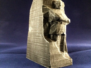 Low-Poly Martin Luther King, Jr. Memorial