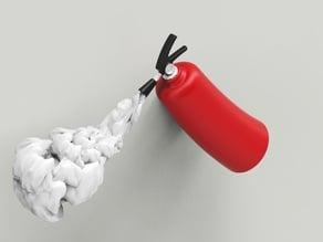 3D signage - Fire extinquisher