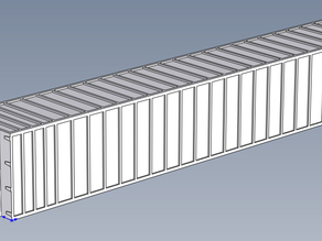 53Ft Ribbed Container