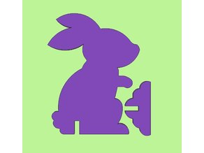Easter Bunny Stand Up 2