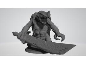 Huge Turtle Monster (DnD, Pathfinder, Tabletop RPG)