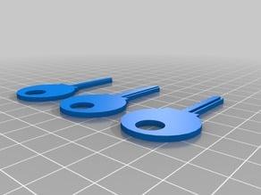Kwikset key cloning kit for Lockpicking