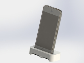 Iphone 5s stand and charging dock