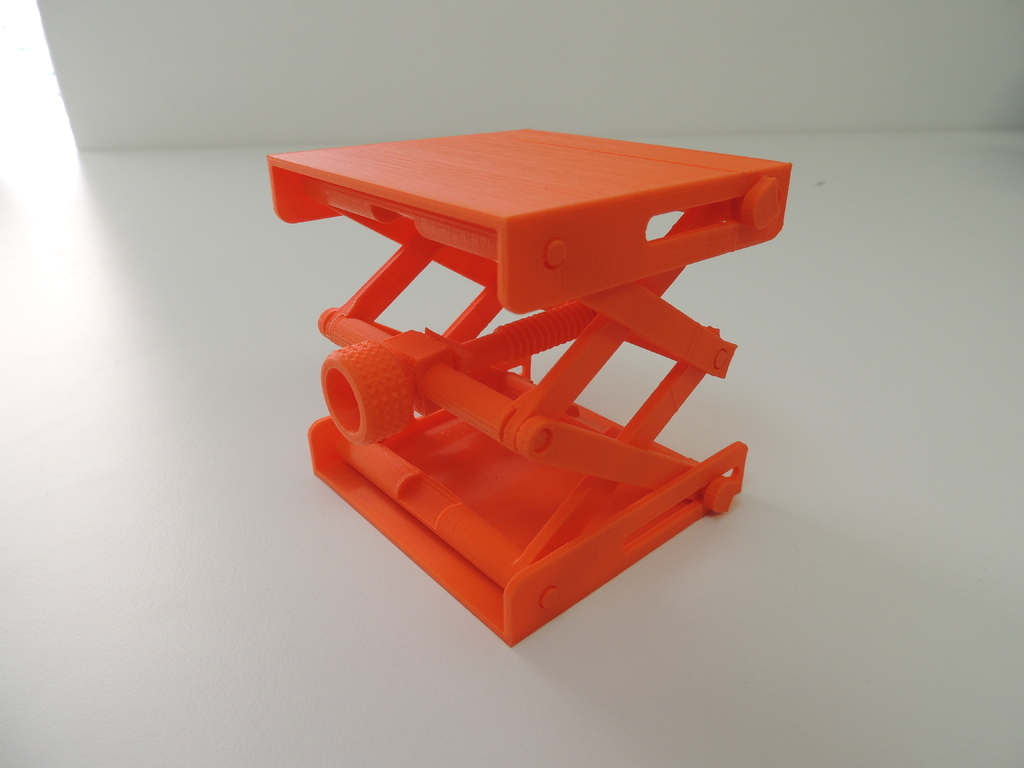 Platform Jack [Fully Assembled, No Supports] by