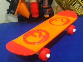 Face Monster Mini Skateboard
