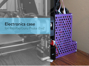 Electronics case (RAMPS/Arduino) for RepRapGuru Prusa i3 v2