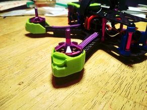 Martian drone frame arm and motor protector