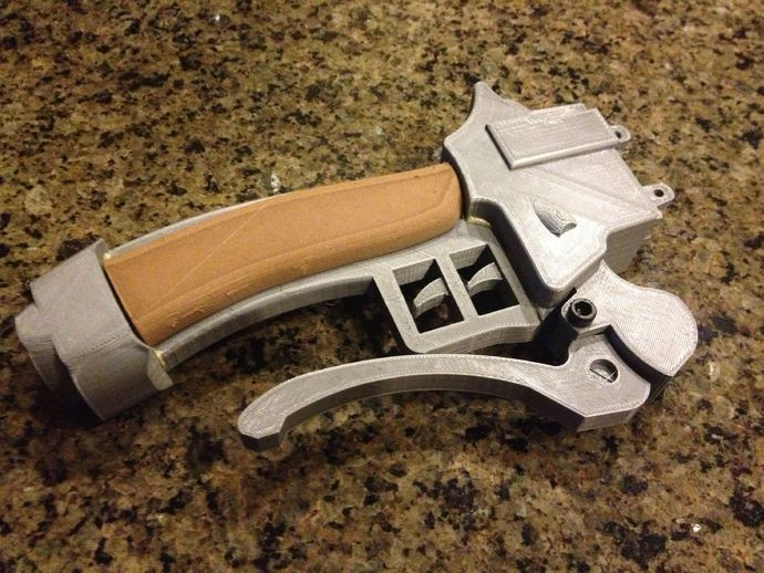 3d maneuver gear attack on titan by virgilvox thingiverse