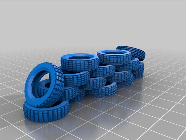 28mm tire for walls and barriers
