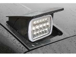 5x7 Headlamp bulb bracket/retainer for Pontiac Fiero