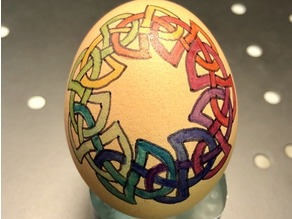 Rainbow Circle Egg