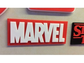 Marvel Logo Multicoloured