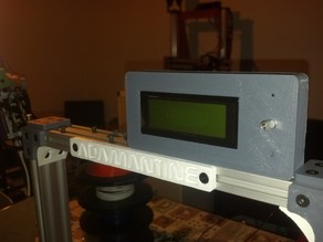 ultipanel remix with mount for geeetech lcd