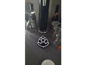 Drip tray hop cone