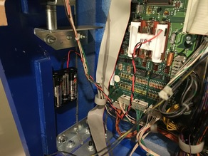 Pinball Remote Battery Adapter