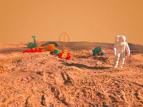 The Mars Pioneers