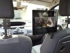 iPad Backseat Cinema