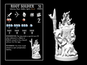 Root Soldier (18mm scale)
