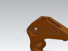 Updated Lever for spring loaded Replicator Drive Block