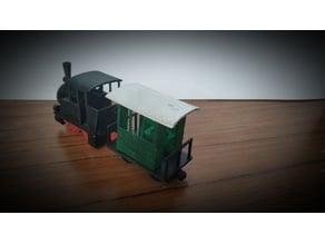 Passenger carriage for Little Lok(i)