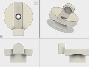 "Lawnmover ""GARDENA PowerMax 42 E"" Handle Joint Replacement"