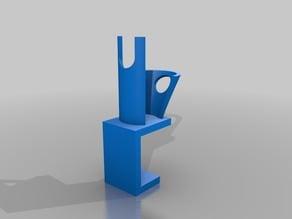 Airbrush holder for table