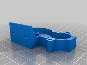 IKEA Tupplur wall-mount bracket for 28BYJ-48 stepper motor