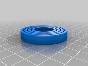 Custom Easy Gyro - 4 thinner rings, smaller diameter