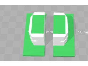 Rapidpistol stock attachment plate