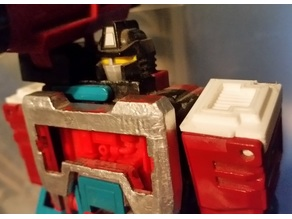 Transformers G1 Perceptor Shoulder Tab