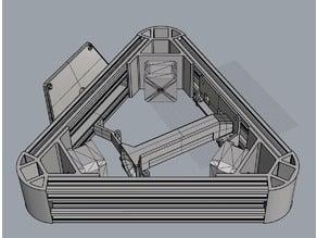 92mm fan mount delta kossel