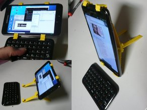 Galaxy Note keyboard holder and stand