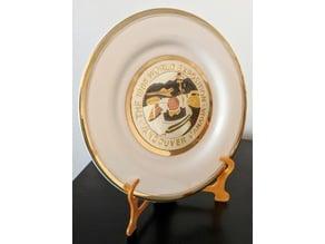 Decorative Plate Holder