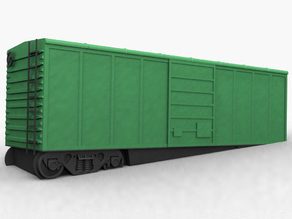 Damaged Boxcar Assembly - 32mm scale / S-Gauge