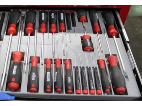 Screw Driver Storage Tray