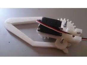 Gripper robot arm