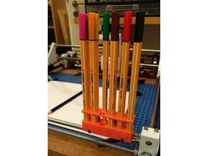 Stabilo Pen storage for M8 Rods
