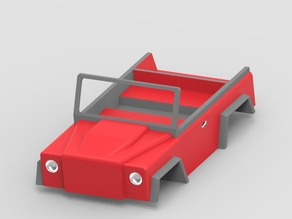 RC Jeep Design (Under progress not yet completed )