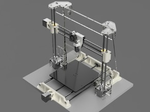 Anet A8 E3D Extruder Carriage and X Axis Leadscrew Conversion