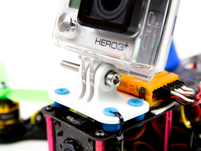 GoPro mount for FPV250L quad copter