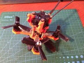 "Micro 115mm FPV Quadcopter, HS1177, Piko BLX 3"" quad"
