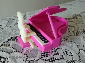 Playing Piano Thin Man