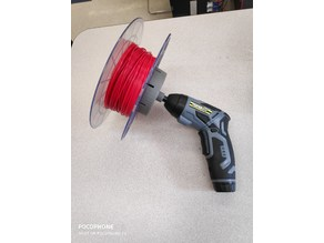 Jig to Wind Sindoh 3DWOX Filament Spool