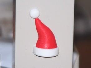 Santa Hat Refrigerator Magnet